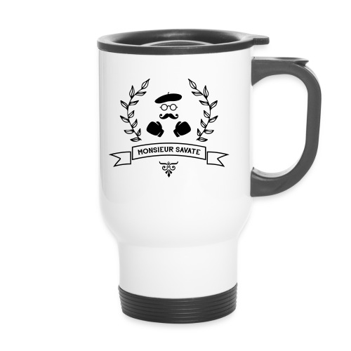 Monsieur Savate logo1 - Mug thermos