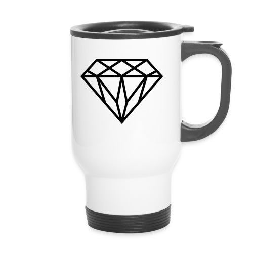 Diamond Graphic // Diamant Grafik - Thermobecher