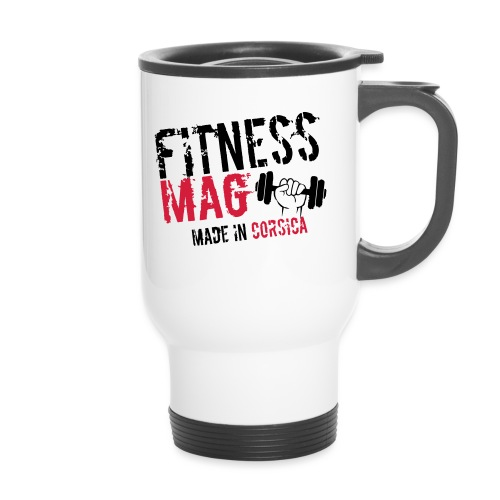 Fitness Mag made in corsica 100% Polyester - Mug thermos