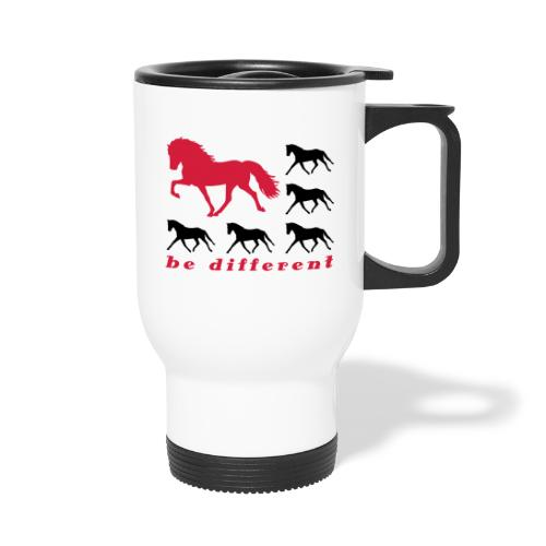 be different - Thermobecher mit Tragegriff