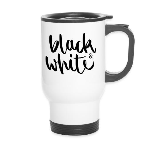 black&white1 - Thermobecher