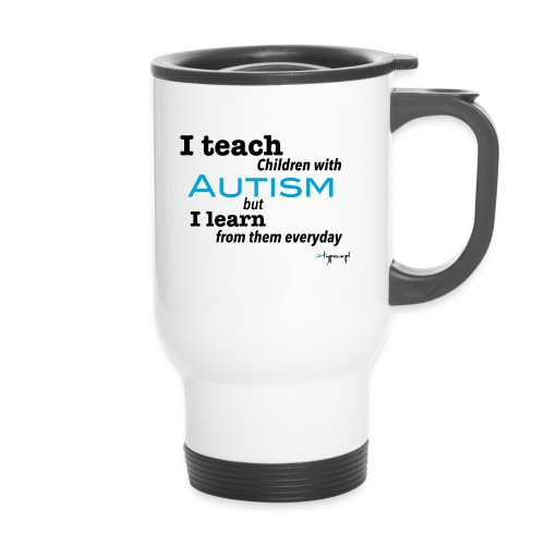 I teach children with AUTISM - Kubek termiczny