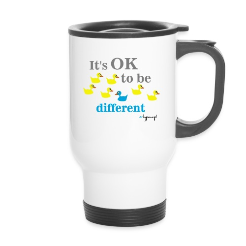 It's OK to be different - Kubek termiczny