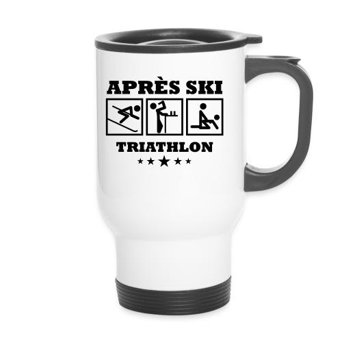 Apres Ski Triathlon | Apreski-Shirts gestalten - Thermobecher