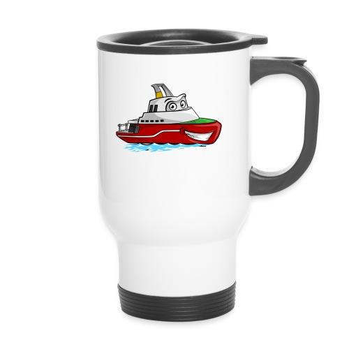 Boaty McBoatface - Thermal mug with handle