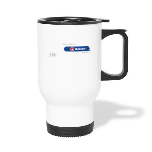 BULGEBULL TEXT - Thermal mug with handle