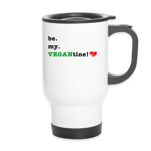 VEGANtine Green - Travel Mug