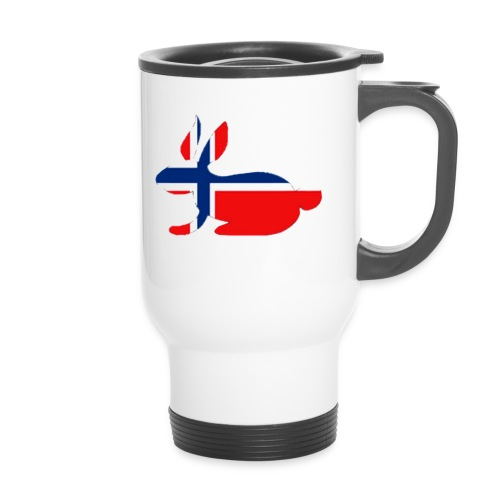 norwegian bunny - Travel Mug