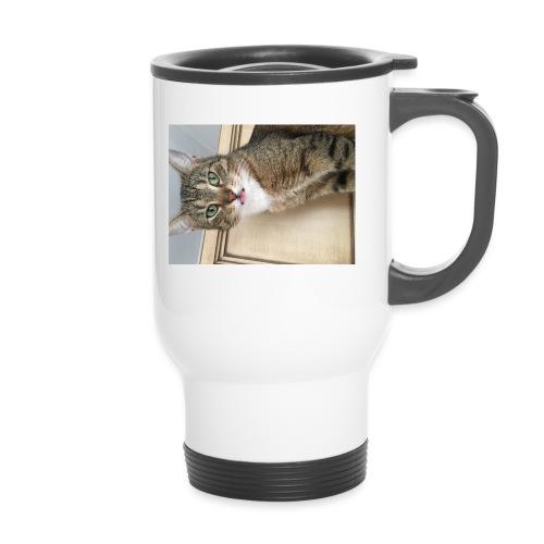 Kotek - Kubek termiczny z uchwytem