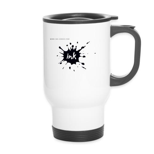 Ink Logo and website - Travel Mug