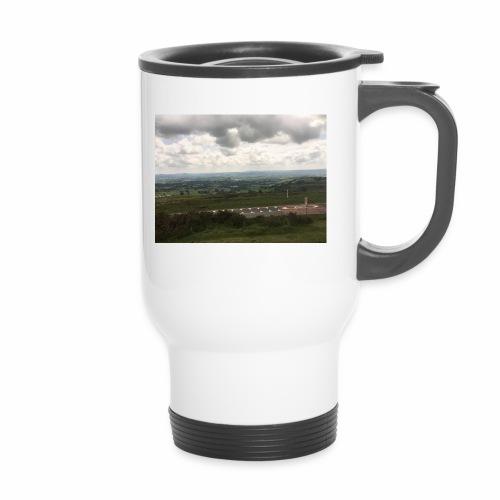 IMG 0310 View from Ludlow - Travel Mug