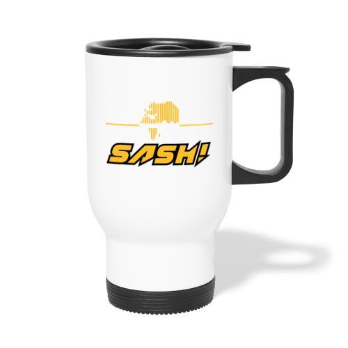 SASH! Logo 2020 Headfone - Travel Mug
