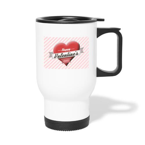 happy valentines day - Travel Mug