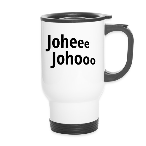 Premium T-Shirt Johee Johoo - Thermo mok