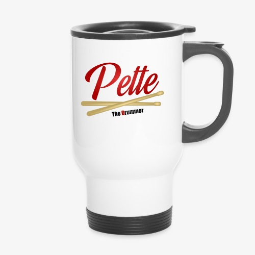 Pette the Drummer - Travel Mug