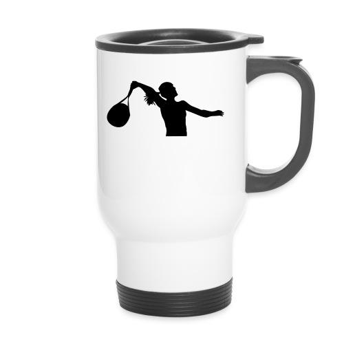 tennis silouhette 6 - Mug thermos
