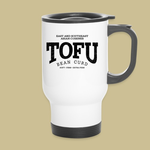 Tofu (black oldstyle) - Thermobecher