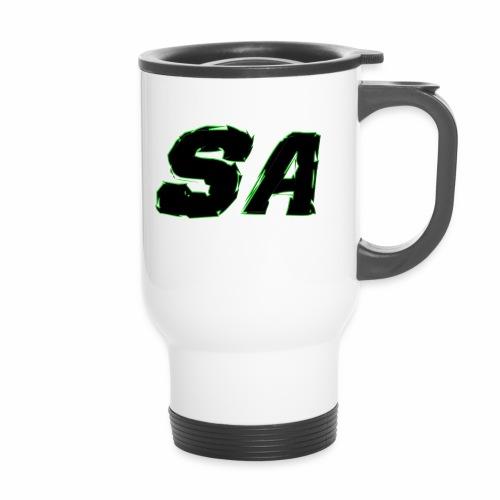 Svart SA Logo - Termosmugg