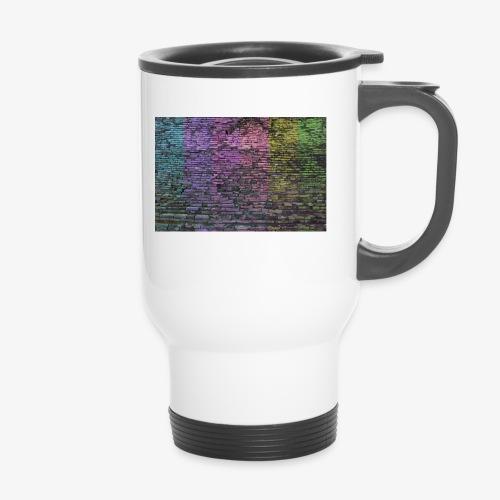 Regenbogenwand - Thermobecher