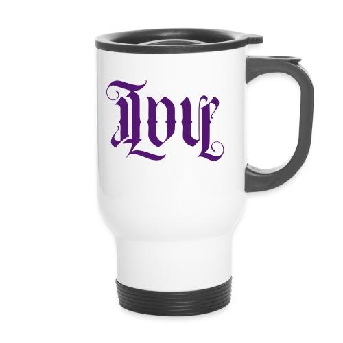 Love and hate - Travel Mug