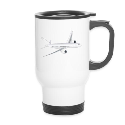Flugzeug - Thermobecher