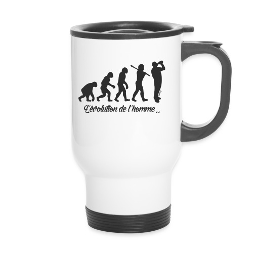 évolution homme (H) - Mug thermos