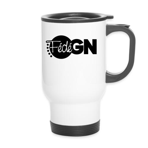 Logo FédéGN pantone - Mug thermos