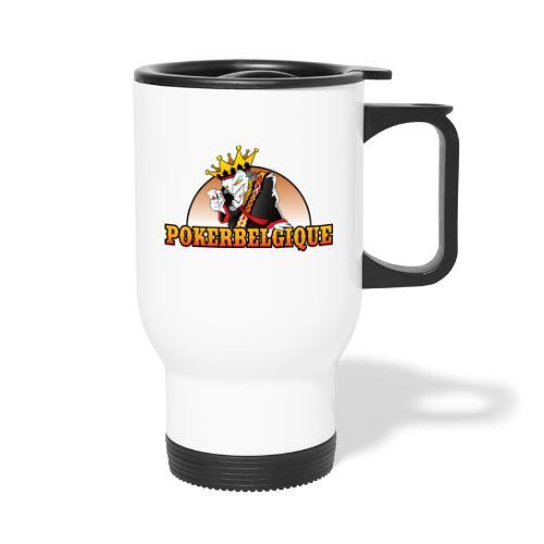 Logo Poker Belgique - Mug thermos