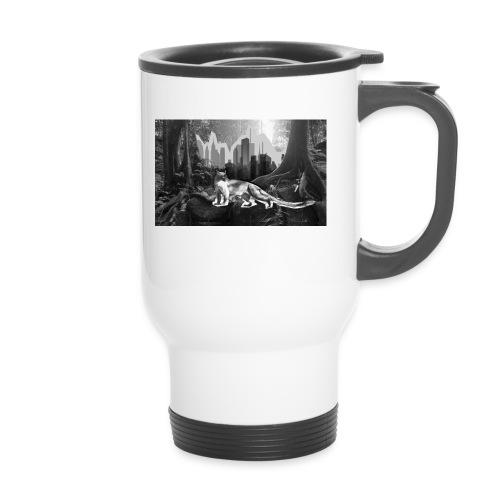 Fossa & Jungle - Thermal mug with handle