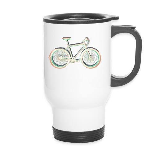 Fahrrad Bike Outdoor Fun Radsport Radtour Freiheit - Travel Mug