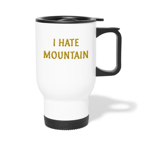 hate mountain - Thermobecher