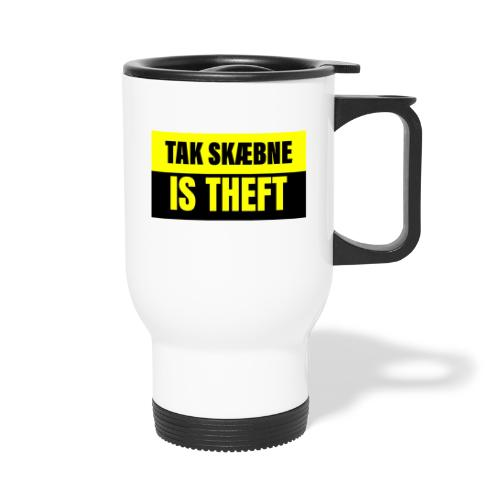 TAXATION IS THEFT - Termokrus med bærehåndtag