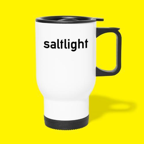 Saltlight // Black - Black - Travel Mug