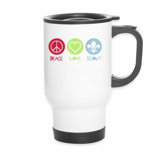 Peace Love Scout - Mug thermos