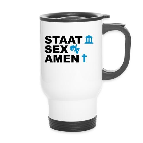Staatsexamen / Staat Sex Amen - Thermobecher