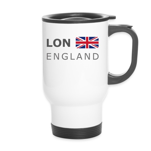 LON ENGLAND BF dark-lettered 400 dpi - Travel Mug