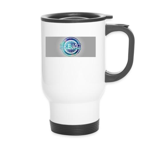 LOGO WITH BACKGROUND - Travel Mug
