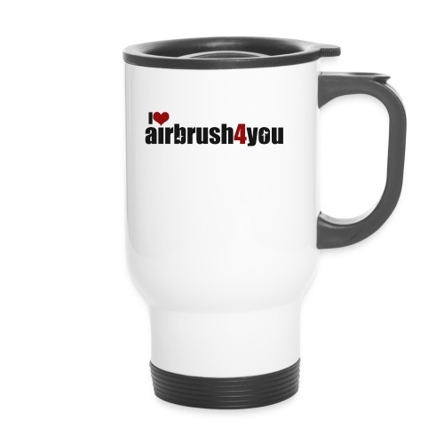 I Love airbrush4you - Thermobecher