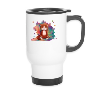 Pixels Make Me Cry - Travel Mug