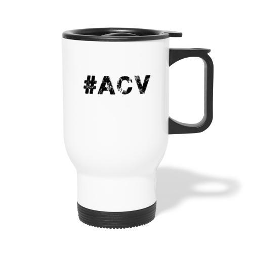 #ACV Logo - Thermobecher mit Tragegriff