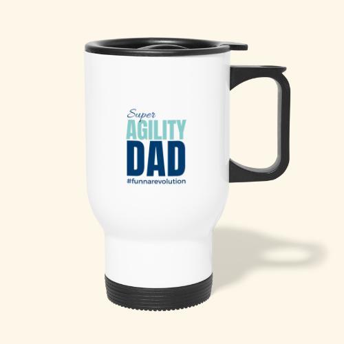 Super Agility Dad - Kahvallinen termosmuki