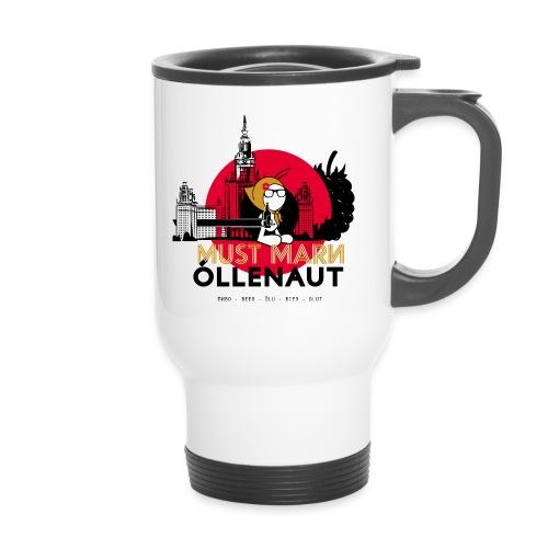 Õllenaut Must Mari - Travel Mug