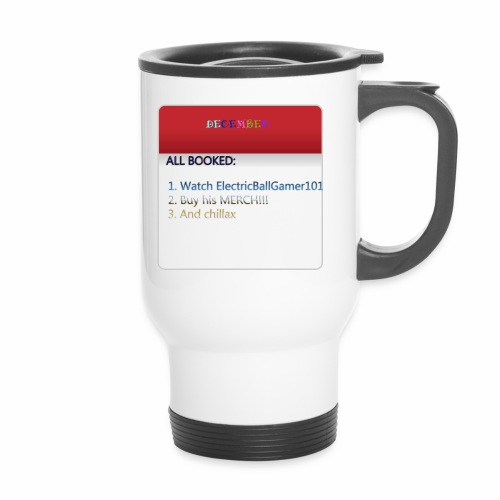 Calender copy - Travel Mug