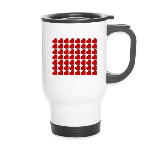 Hearts - Travel Mug