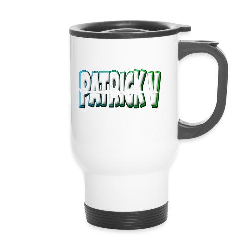 Patrick V Name - Travel Mug