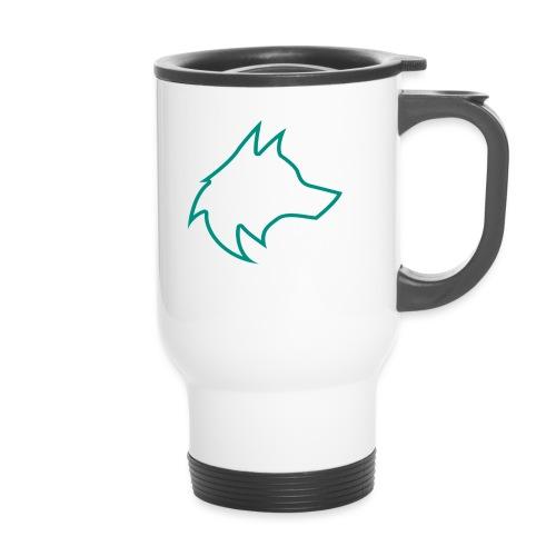 Wolf Pack Logo (NEW) - Travel Mug