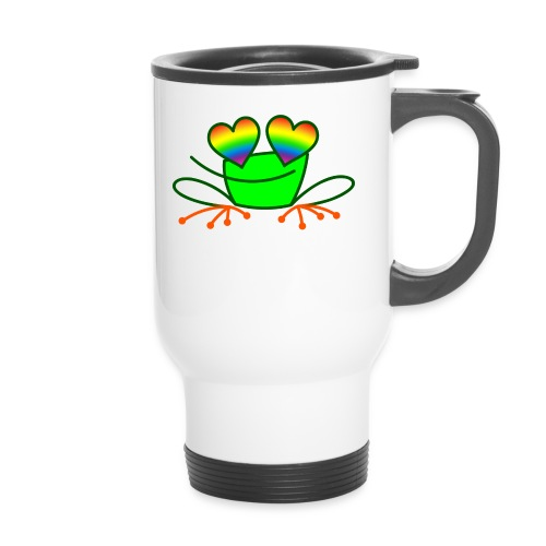 Pride Frog in Love - Travel Mug