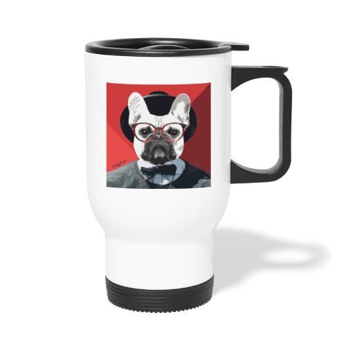 French Bulldog Artwork 2 - Thermobecher