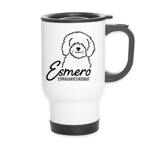 Esmero-kennel tuotteita - Kahvallinen termosmuki