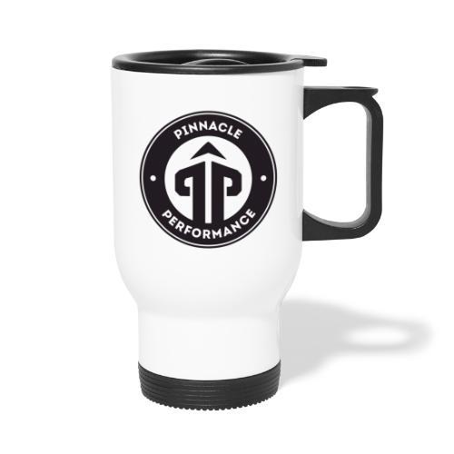 Pinnacle Performance Apparel (Black Logo) - Thermal mug with handle